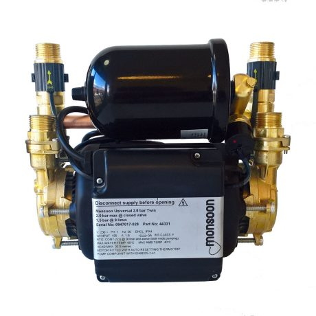 Reconditioned Stuart Turner Pump – Monsoon U 3.0 Bar Twin Negative Head Pump
