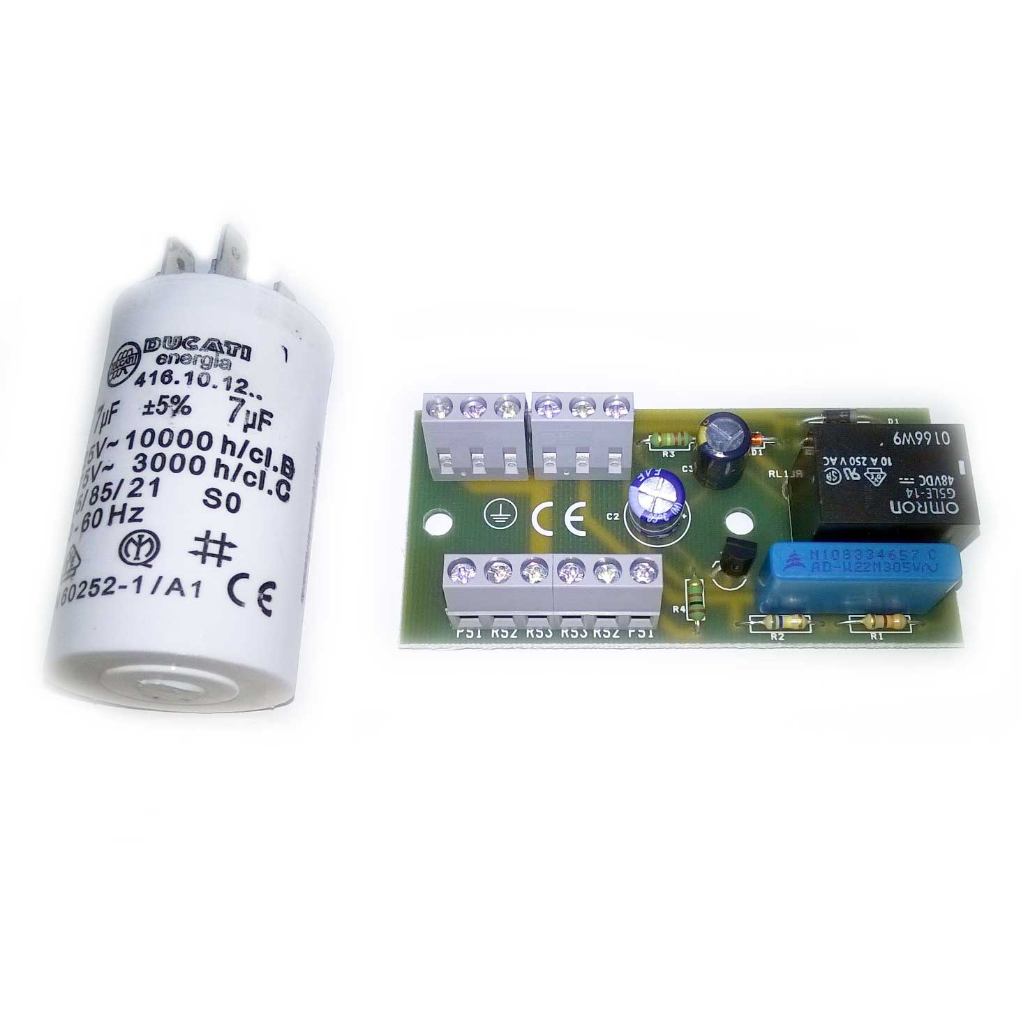Compatible PCB Board with 7uF Capacitor for Stuart Turner Pump on